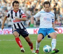 Monterrey contra Cruz Azul, juego del 7 de febrero