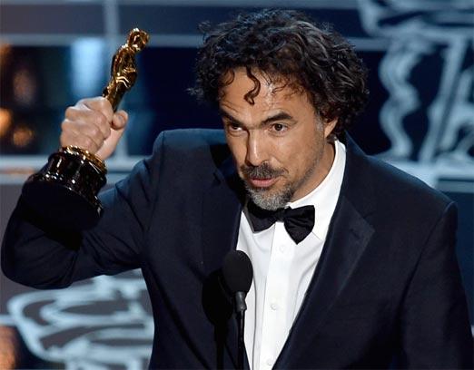 González Iñarritu ha ganado 3 Oscar por la película Birdman y se siente feliz