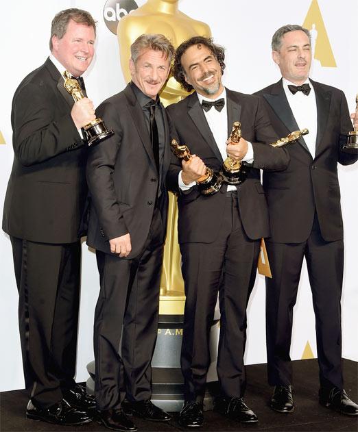 Sean Penn y Alejandro González Iñárritu son muy buenos amigos