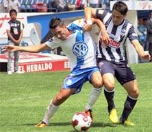 Puebla enfrenta a monterrey jugando en casa