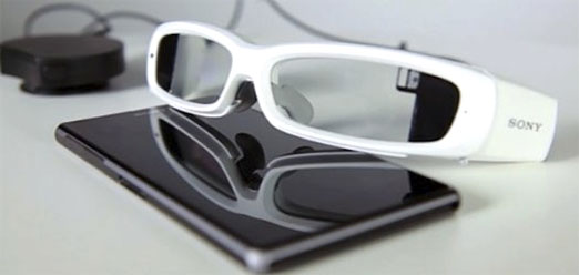 SmartEyeglass de Sony