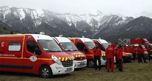 Ambulancia de Rescate para el choque
