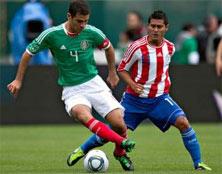 México enfrenta a Paraguay, juego amistoso