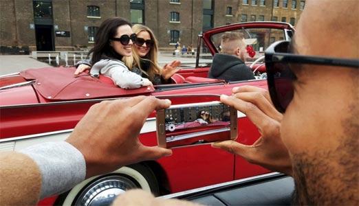Foto con cámara del Galaxy S6, un smartphone costoso