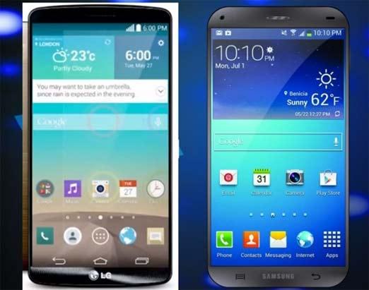 Galaxy S6 vs LG G4 dos potentes smartphones