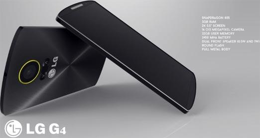 LG G4 smartphone de gama alta