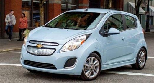 Spark de Chevrolet primer auto eléctrico