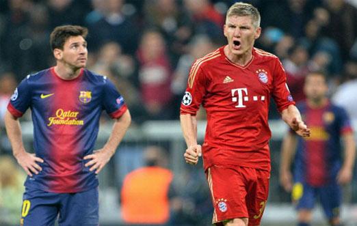 Bayern contra Barcelona juego de vuelta