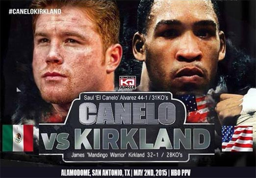 Canelo Álvarez vs James Kirkland pelea de box