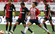 Chivas contra Atlas, juego de vuelta