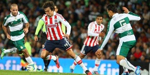 Chivas contra Santos semifinales torneo de clausura 2015