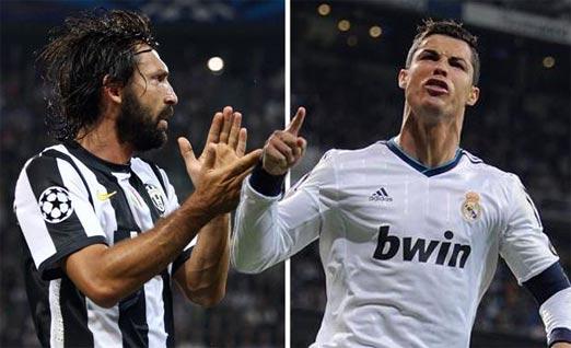 Juventus contra Real Madrid el juego de vuelta