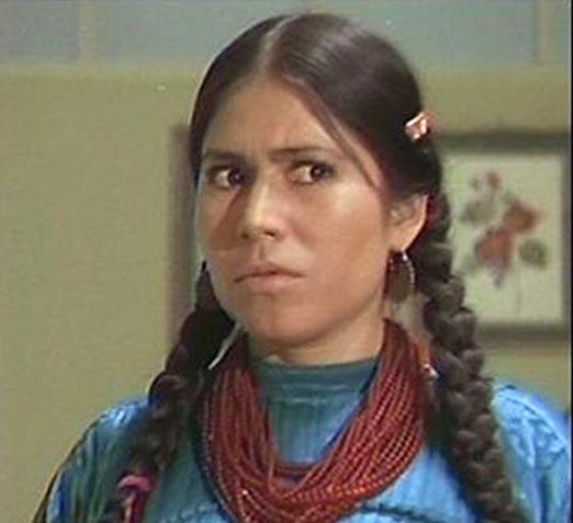 La India María de joven cuando empezaba sus películas