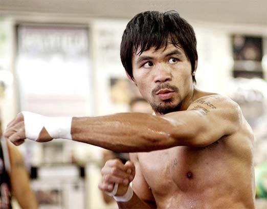 Manny Paquiao se declara confiado y relajado