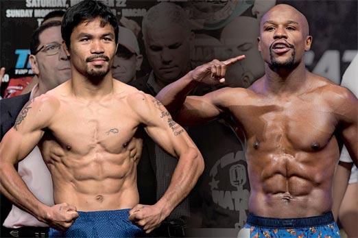 Manny Pacquiao vs Floyd Mayweather Jr este dos de Mayo de 2015