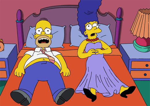 Homer Simpson y Marge se separan por lo menos en un capítulo nuevo