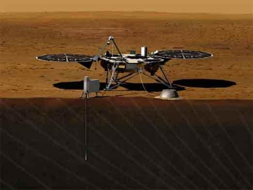 Nueva nave Insight de la NASA