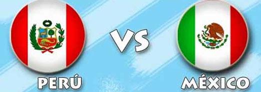 México contra Perú, encuentro amistoso
