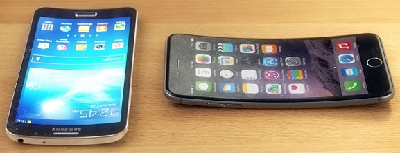 iPhone 7 prototipo curvo
