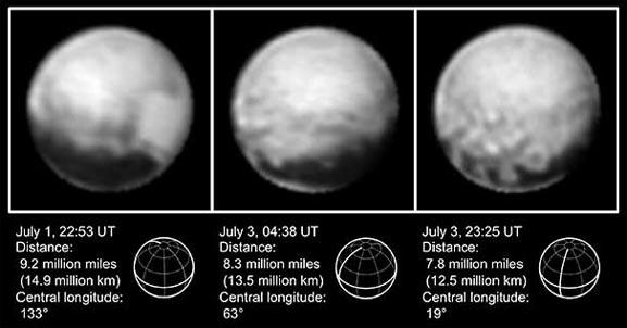 Mapa de Plutón completo aparece gracias a fotos tomadas por sondas espaciales