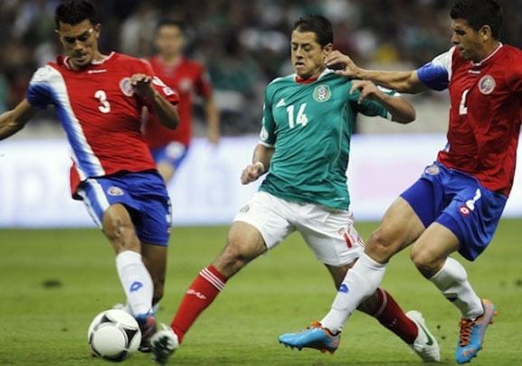 México contra Costa Rica en la copa de oro 2015