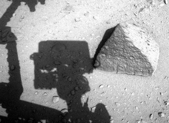 Pirámide descubierta en Marte ha desconcertado a muchos