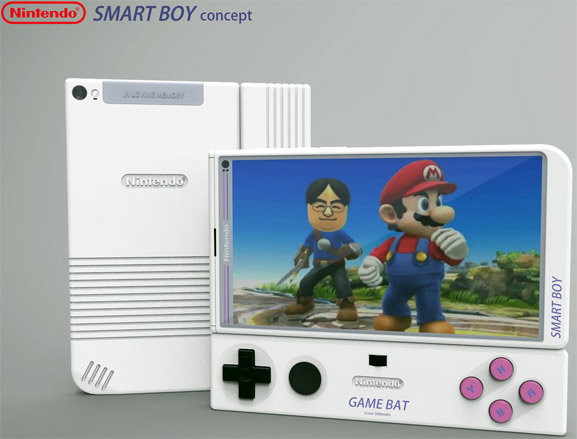 Smart Boy de Nintendo el posible smartphone