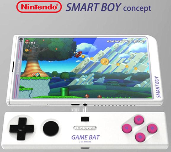 Concepto inusual de Nintendo  que pretende crear un smartphone