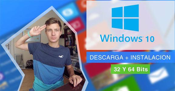 Descarga Windows 10 de forma gratuita