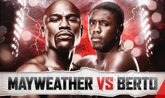 Mayweather vs Berto pelea de box
