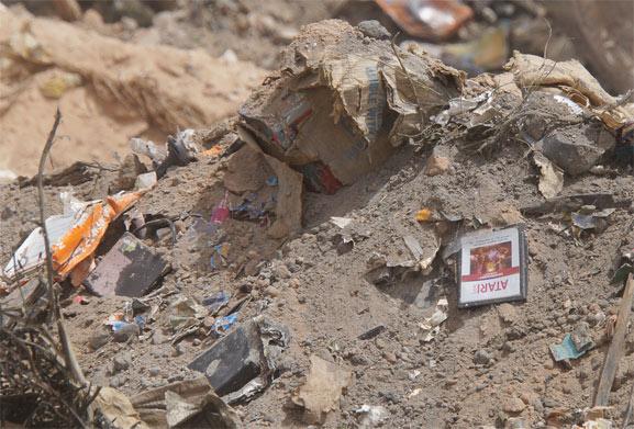 Entre montones de basura y tierra los videojuegos de Atari fueron apareciendo
