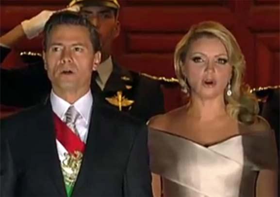 Peña Nieto y Angelica Rivera, personajes odiados por México