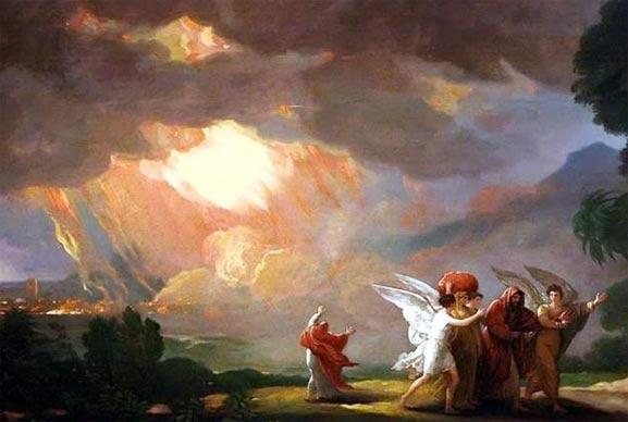 Sodoma, ciudad Bíblica que fue destruida por Dios