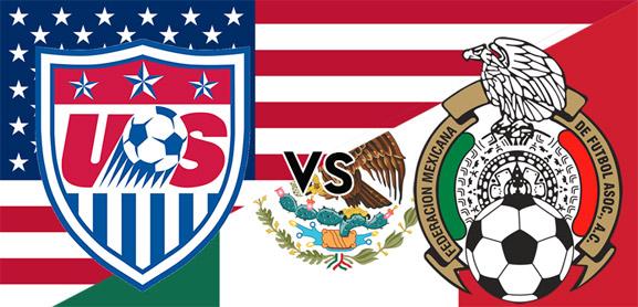México contra Estados Unidos, juego amistoso