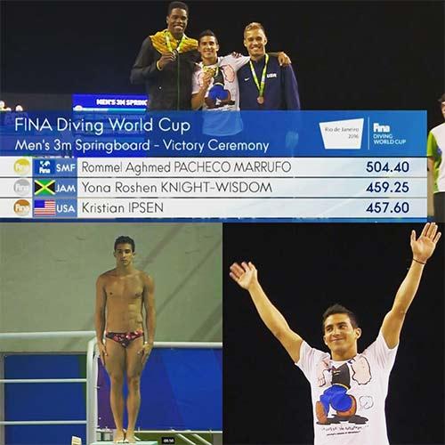 Rommel Pacheco campeón 2016