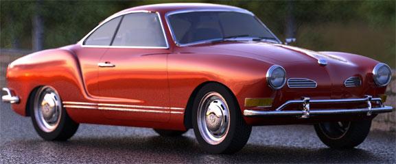 Karmann Guia, coche aleman