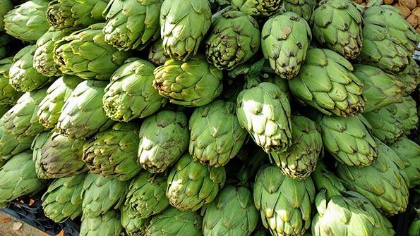 Alcachofa, alimento nutritivo